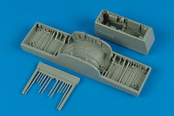 Aires Hobby Details 1/48 F102A Wheel Bay For RMX (Resin)