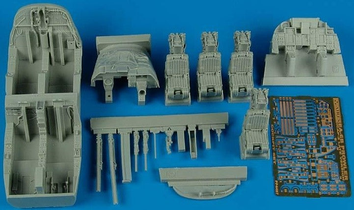 Aires Hobby Details 1/48 EA6B ICAP 2 Late Cockpit Set For KIN