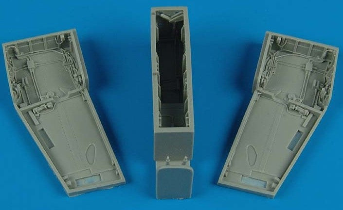 Aires Hobby Details 1/48 F5E Wheel Bay For AFV (Resin)