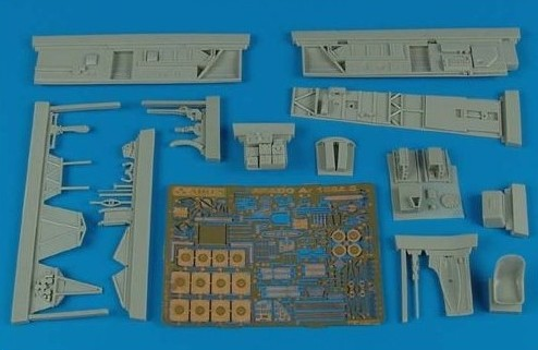 Aires Hobby Details 1/48 Ar196A5 Cockpit Set For ITA