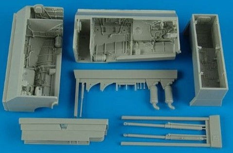 Aires Hobby Details 1/48 Su24 Fencer Wheel Bay For TSM (Resin)