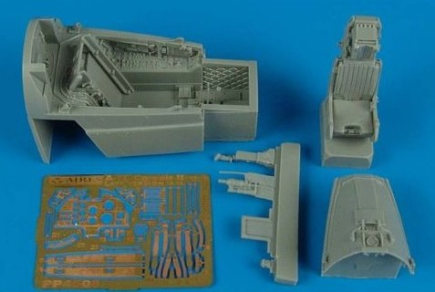 Aires Hobby Details 1/48 A7E Late Cockpit Set For HBO
