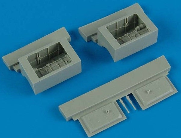 Aires Hobby Details 1/48 F4E/F Auxiliary Air Intake For HSG (Resin)