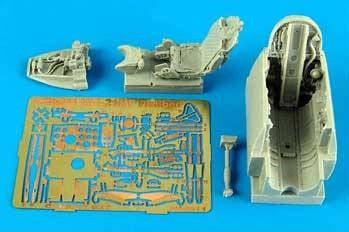 Aires Hobby Details 1/48 MiG21MF Cockpit Set For EDU