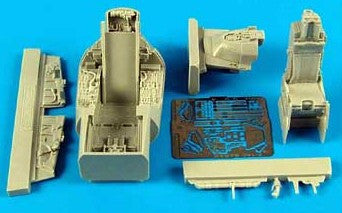 Aires Hobby Details 1/48 F16C Barak Cockpit Set For KIN