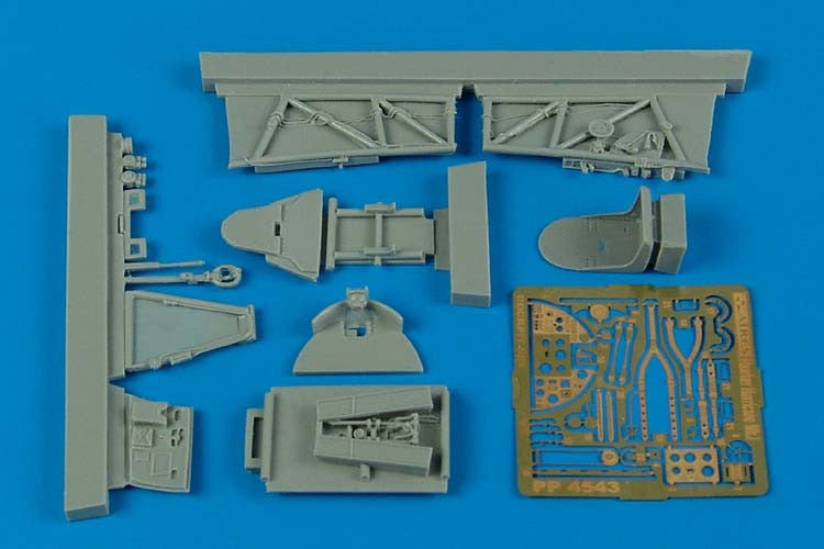 Aires Hobby Details 1/48 Hawker Hurricane Mk I Cockpit Set For ITA
