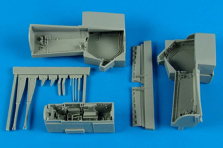 Aires Hobby Details 1/48 EA6B Wheel Bay For KIN (Resin)