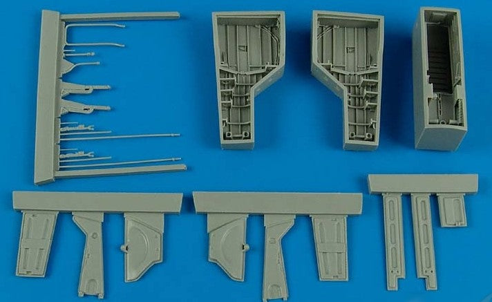 Aires Hobby Details 1/48 T28 Trojan Wheel Bay For ROD