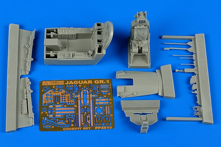 Aires Hobby Details 1/48 Sepecat Jaguar GR1 Cockpit Set For KTY