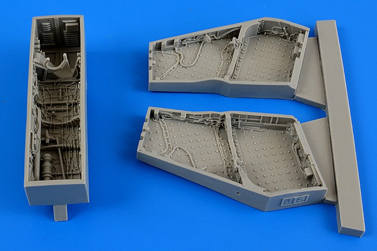 Aires Hobby Details 1/48 F4C/D Phantom II Wheel Bay For ACY (Resin)