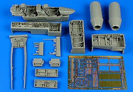 Aires Hobby Details 1/48 F/A18F Super Hornet Detail Set For HSG
