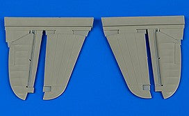 Aires Hobby Details 1/48 P40M/N Warhawk Control Surfaces for HSG (Resin)