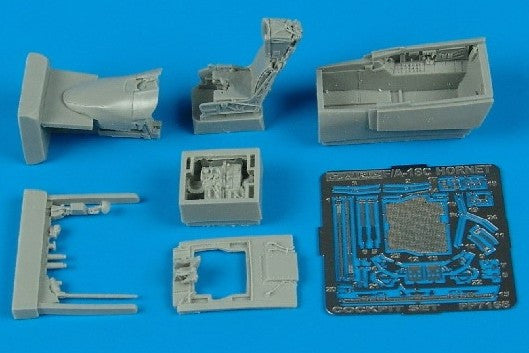 Aires Hobby Details 1/72 F/A18C Cockpit Set For HSG
