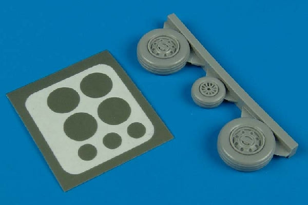 Aires Hobby Details 1/72 F105 Wheels & Paint Masks For TSM