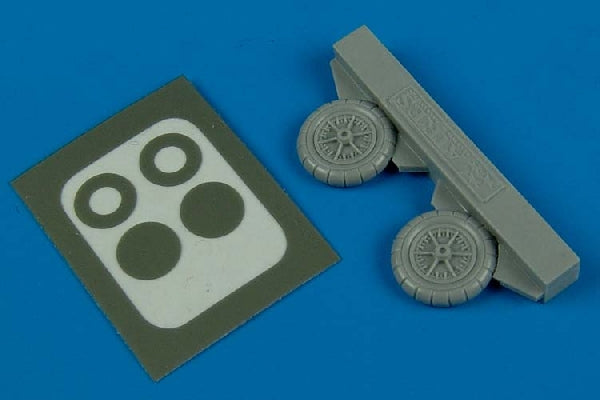 Aires Hobby Details 1/72 Bf109E/F Wheels & Paint Masks