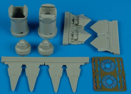Aires Hobby Details 1/72 F22A Exhaust Nozzles For RVL