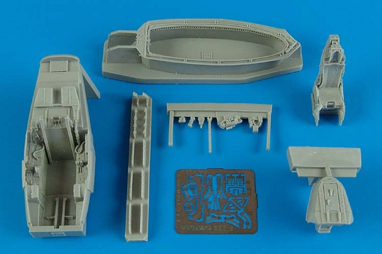 Aires Hobby Details 1/72 F22A Cockpit Set For ACY
