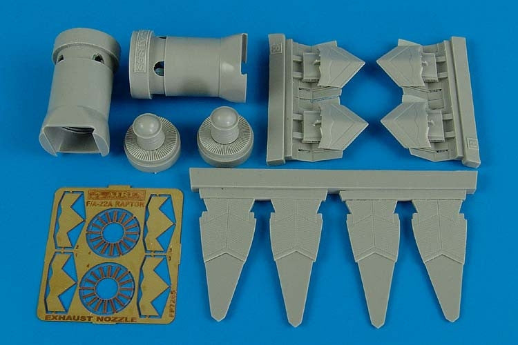 Aires Hobby Details 1/72 F22A Exhaust Nozzles For ACY
