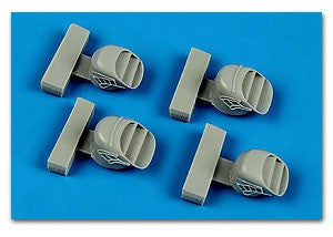 Aires Hobby Details 1/72 Harrier FRS 1 Exhaust Nozzles For ARX (Resin)