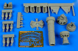 Aires Hobby Details 1/72 MiG15bis Engine Set For EDU