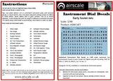 Airscale Details 1/48 Early Soviet Jets Instrument Dials (Decal)