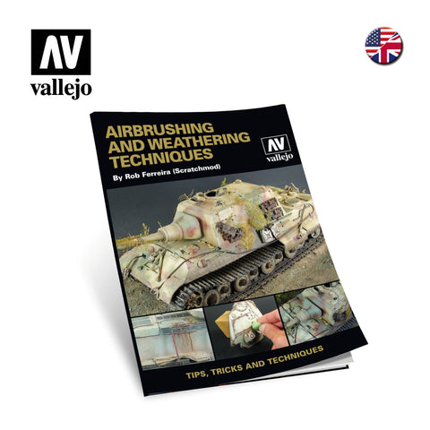 Vallejo Books - Airbrush & Weathering Techniques Book