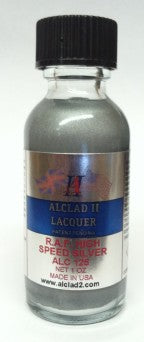 Alclad II 1oz. Bottle RAF High Speed Silver Lacquer