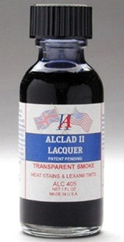 Alclad II 1oz. Bottle Transparent Smoke Lacquer