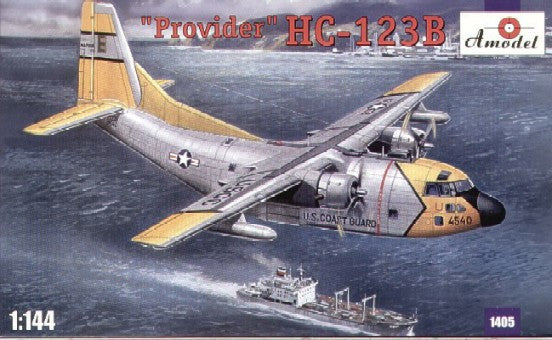 A Model From Russia 1/144 HC123B Provider USAF Cargo Aircraft Kit