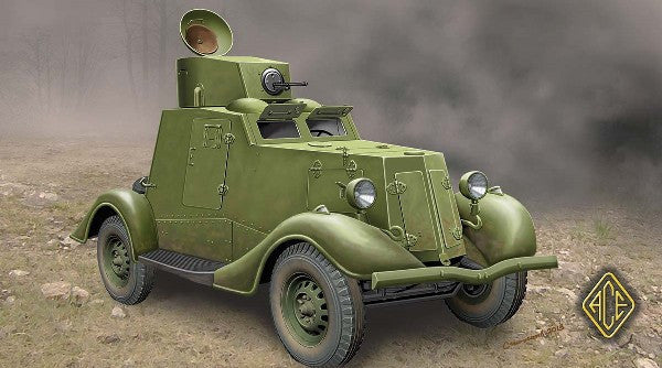 Ace Military Models 1/48 FAI-M Soviet Light Armored Car Kit