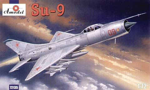 A Model From Russia 1/72 Su9 Soviet Fighter Interceptor Kit