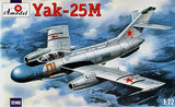A Model From Russia 1/72 Yak25M Soviet 2-Seater Fighter Kit