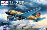 A Model From Russia 1/72 Lisunov Li2NB Soviet Light Bomber Kit