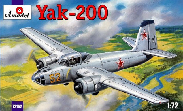 A Model From Russia 1/72 Yak200 Soviet Trainer Aircraft Kit