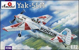 A Model From Russia 1/72 Yak55M Fortis Aircraft Kit
