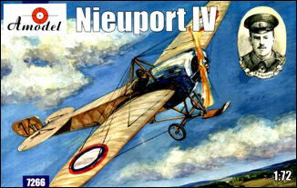 A Model From Russia 1/72 Nieuport IV WWI Recon Aircraft Kit