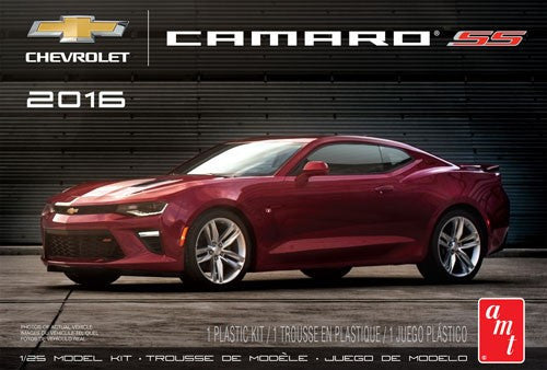 AMT Model Cars 1/25 2016 Chevy Camaro SS (Red) Kit