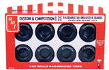 AMT Model Cars 1/25 M&H Racemasters Super Tall & Wide Dragster Slicks Tire Pack (8)