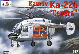 A Model From Russia 1/72 Kamov Ka226 Serega Russian Rescue Helicopter Kit