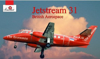 A Model From Russia 1/72 Jetstream 31 British Aerospace Aircraft Kit