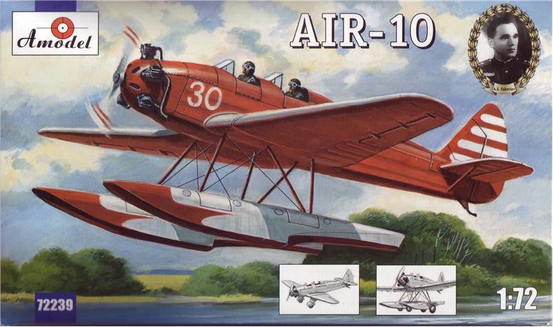 A Model From Russia 1/72 Yakovlev Air10 WWII Floatplane Kit