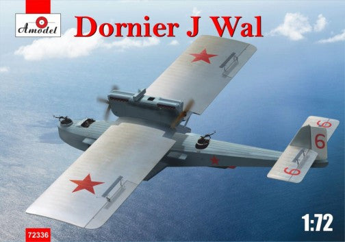 A Model From Russia 1/72 Dornier J Wal German Flying Boat (New Tool) Kit