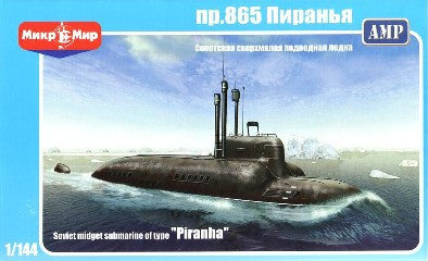 AMP Ships 1/144 Soviet Type Piranha Midget Submarine Kit