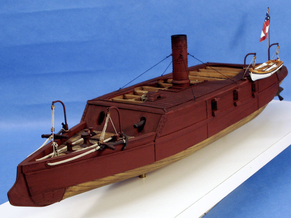 Cottage Industry Ships 1/96 CSS Arkansas Confederate Ironclad Warship Resin Kit