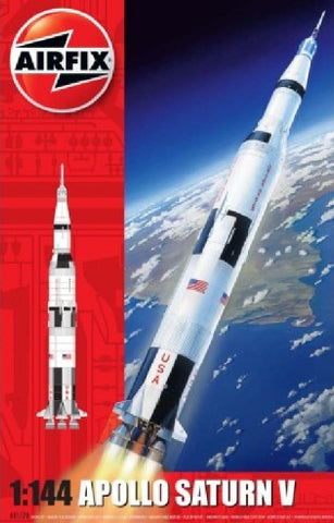 Airfix Space 1/144 Apollo Saturn V Rocket (Re-Issue) Kit