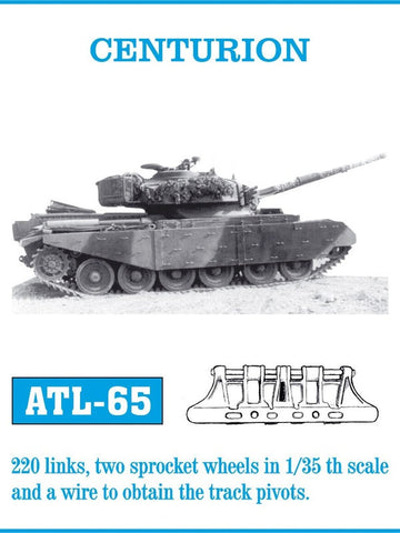 Friulmodel Military 1/35 Centurion Track Set (220 Links)
