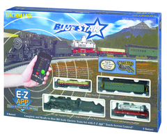 Bachmann HO Blue Star - E-Z App™ Train Control Train Set