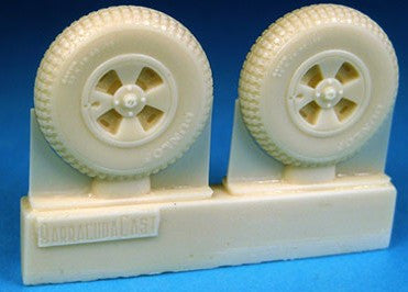 Barracuda Studios 1/48 DH Hornet /Sea Hornet Main Wheels (Resin)