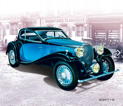 Heller Model Cars 1/24 Bugatti T50 Car Kit