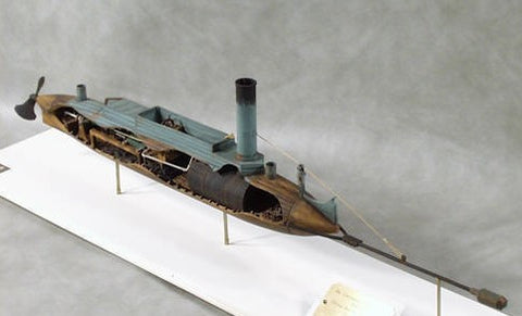 Cottage Industry Ships 1/32 David Confederate Torpedo Boat Civil War Kit